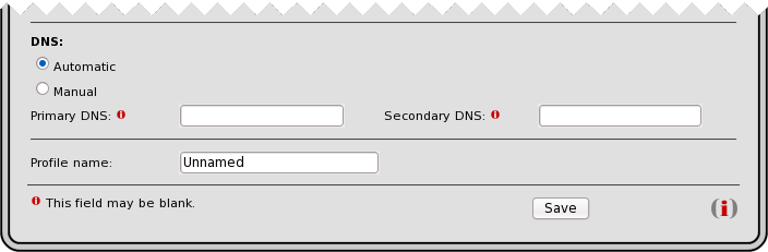 DNS section